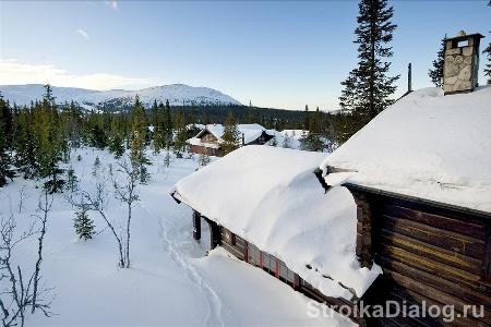 из-за снега нагрузки на фундамент растут