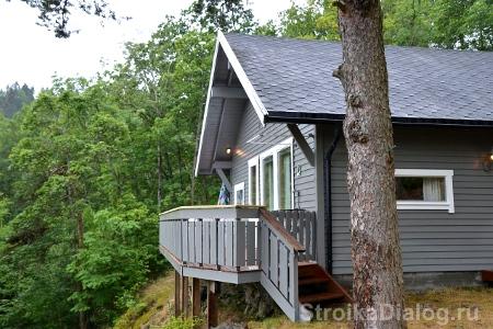 фундамент для дома на склоне может быть комбинорованным