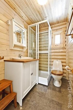 Санузел в деревянном доме пошаговая инструкция