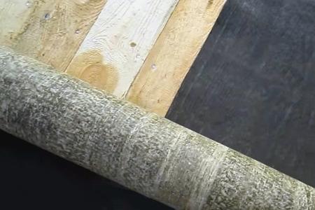 укладка рубероида на деревянную крышу
