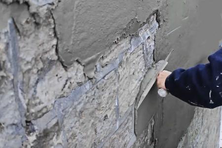 Штукатурка стен цементным раствором пеноблоков инструменты для бетонной смеси