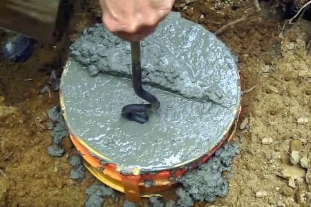 для бани можно сделать столбчатый фундамент
